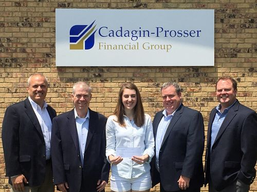Cadagin - Prosser Financial Group Scholarship Winner